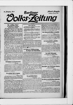Berliner Volkszeitung vom 03.01.1913