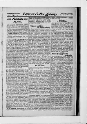 Berliner Volkszeitung vom 04.01.1913