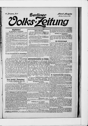 Berliner Volkszeitung vom 06.01.1913