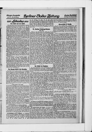 Berliner Volkszeitung vom 10.01.1913