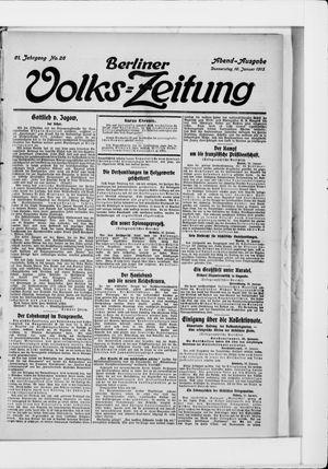 Berliner Volkszeitung on Jan 16, 1913