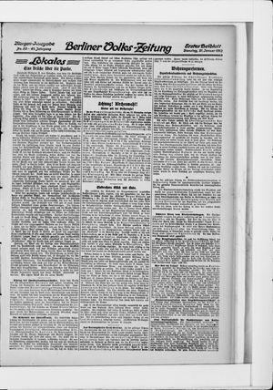 Berliner Volkszeitung vom 21.01.1913