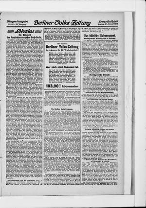 Berliner Volkszeitung vom 24.01.1913