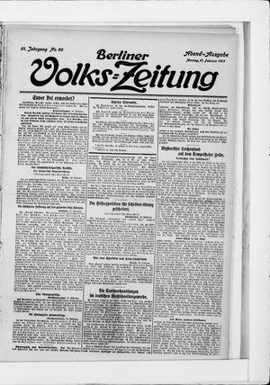 Berliner Volkszeitung vom 17.02.1913