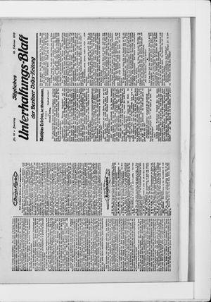 Berliner Volkszeitung vom 18.02.1913
