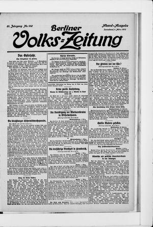 Berliner Volkszeitung vom 01.03.1913