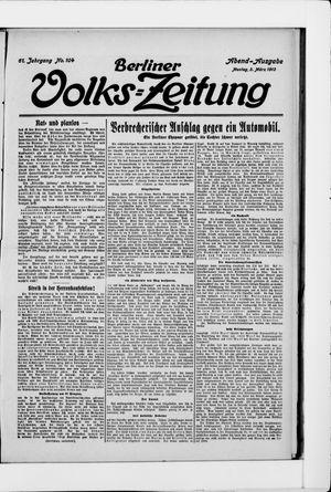 Berliner Volkszeitung vom 03.03.1913