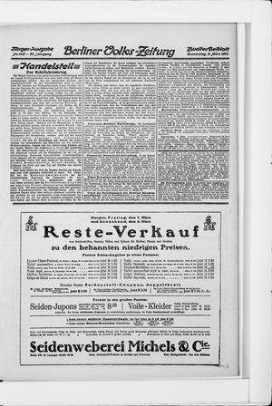 Berliner Volkszeitung vom 06.03.1913