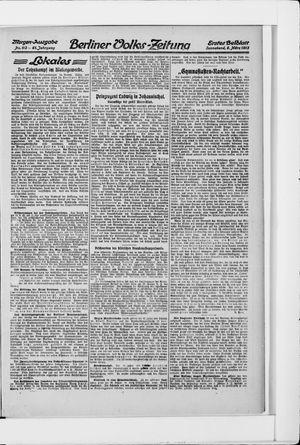 Berliner Volkszeitung vom 08.03.1913
