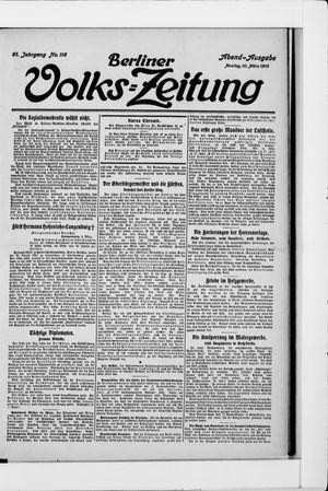 Berliner Volkszeitung vom 10.03.1913