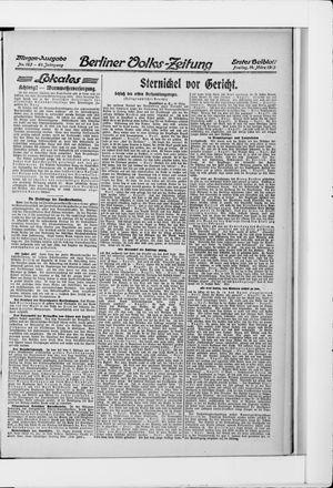 Berliner Volkszeitung vom 14.03.1913
