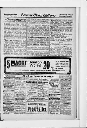 Berliner Volkszeitung vom 15.03.1913