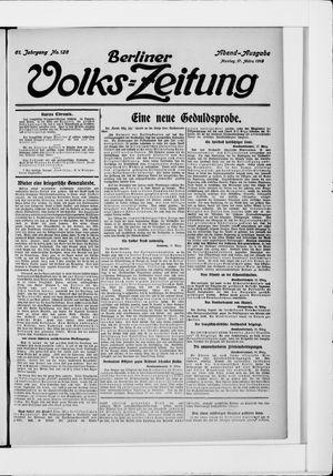Berliner Volkszeitung vom 17.03.1913