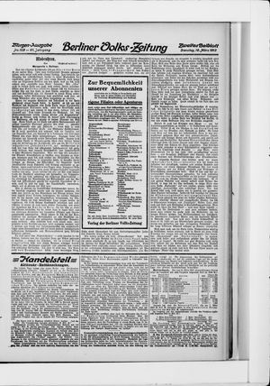 Berliner Volkszeitung vom 18.03.1913