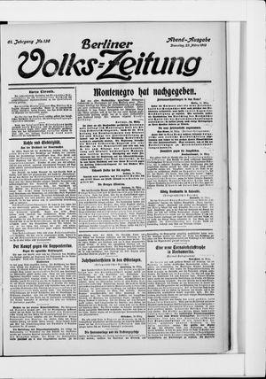 Berliner Volkszeitung vom 25.03.1913