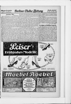 Berliner Volkszeitung vom 30.03.1913