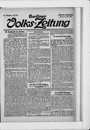 Berliner Volkszeitung vom 02.04.1913