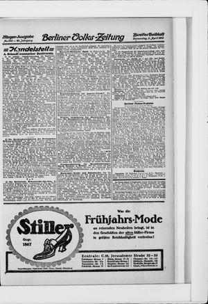 Berliner Volkszeitung vom 03.04.1913