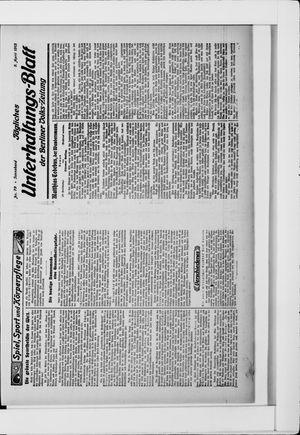 Berliner Volkszeitung vom 05.04.1913