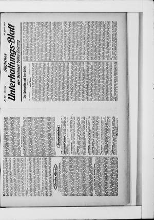 Berliner Volkszeitung vom 27.04.1913