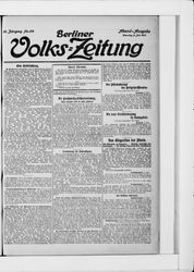 Berliner Volkszeitung (08.07.1913)