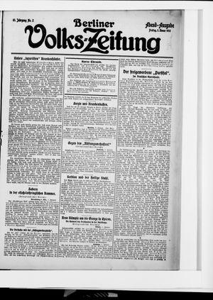 Berliner Volkszeitung vom 02.01.1914