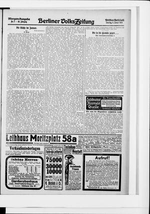 Berliner Volkszeitung vom 04.01.1914