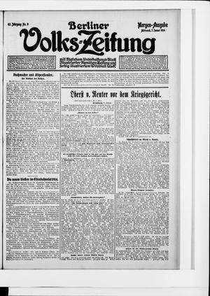 Berliner Volkszeitung vom 07.01.1914