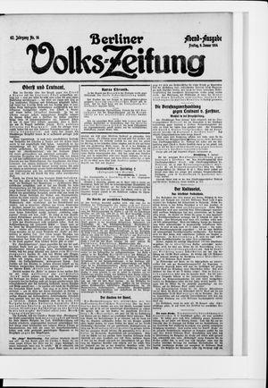Berliner Volkszeitung vom 09.01.1914