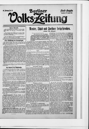 Berliner Volkszeitung vom 10.01.1914