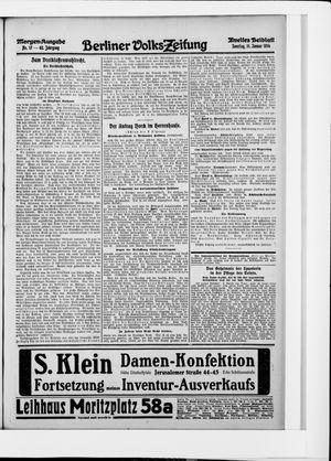 Berliner Volkszeitung vom 11.01.1914