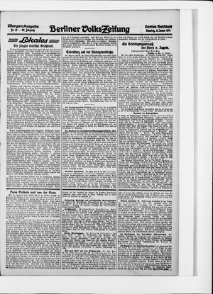Berliner Volkszeitung vom 13.01.1914