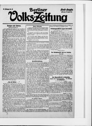 Berliner Volkszeitung on Jan 14, 1914