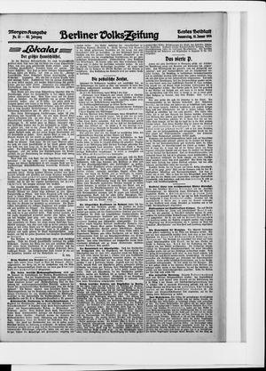 Berliner Volkszeitung vom 15.01.1914
