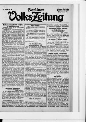 Berliner Volkszeitung vom 16.01.1914