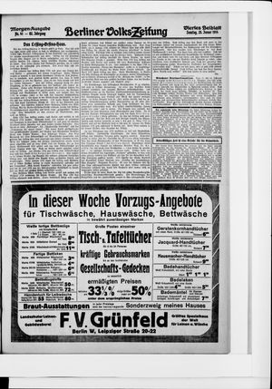 Berliner Volkszeitung vom 25.01.1914