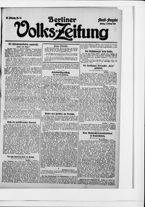 Berliner Volkszeitung vom 02.02.1914