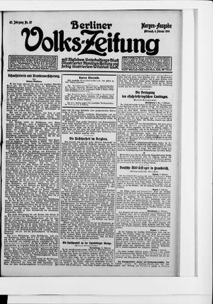 Berliner Volkszeitung on Feb 4, 1914