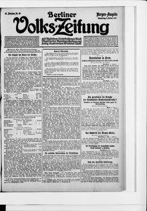 Berliner Volkszeitung vom 05.02.1914