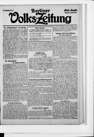 Berliner Volkszeitung vom 07.02.1914