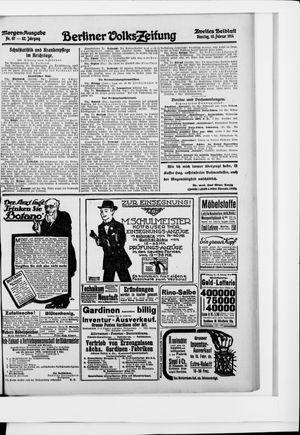 Berliner Volkszeitung vom 10.02.1914