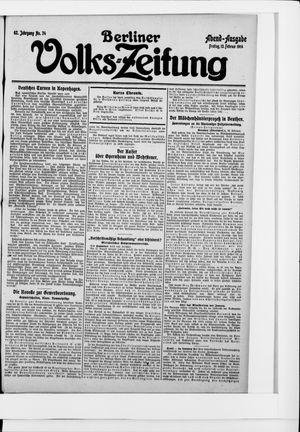 Berliner Volkszeitung vom 13.02.1914