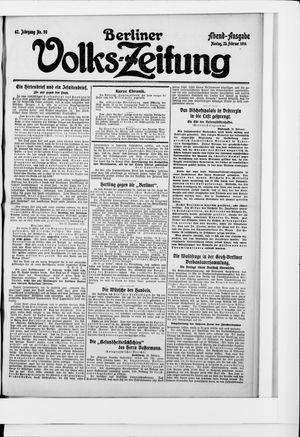 Berliner Volkszeitung vom 23.02.1914