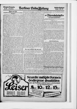 Berliner Volkszeitung vom 01.03.1914