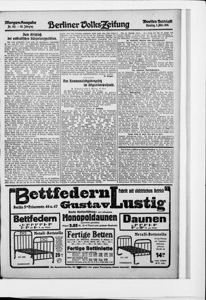 Berliner Volkszeitung vom 03.03.1914