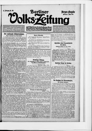 Berliner Volkszeitung vom 04.03.1914