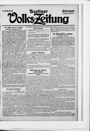 Berliner Volkszeitung vom 05.03.1914