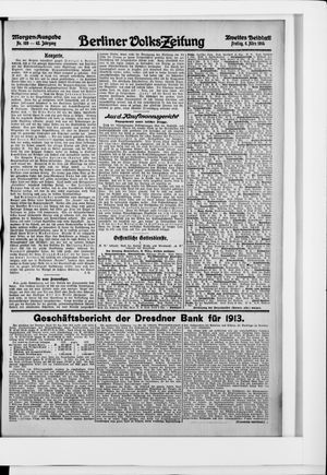 Berliner Volkszeitung vom 06.03.1914