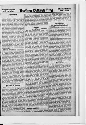 Berliner Volkszeitung on Mar 8, 1914
