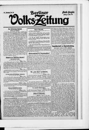 Berliner Volkszeitung vom 09.03.1914